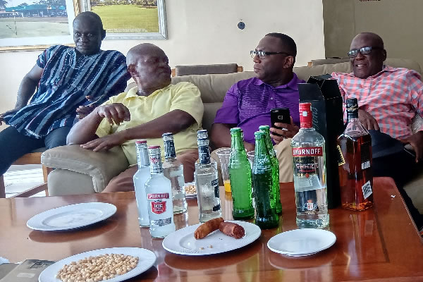 Meeting at the Tema Golf Club